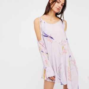 NWT FREE PEOPLE CLEAR SKIES LILAC TUNIC